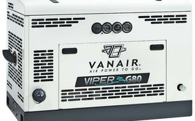 Vanair gas rotary screw air compressor
