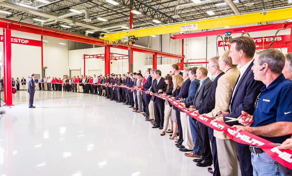 Hilti Celebrates Grand Opening in New Texas Locations