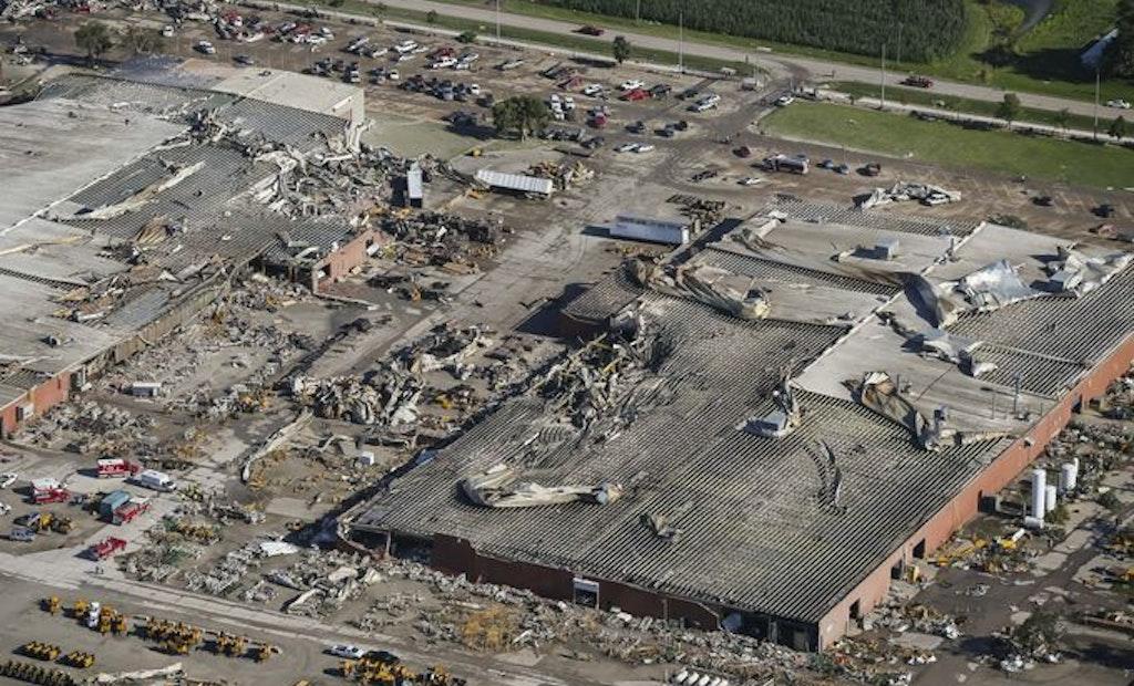 Vermeer Suffers Major Damage in Tornado Strike
