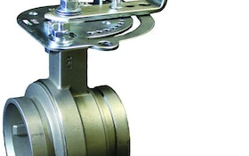 Victaulic stainless steel butterfly valve