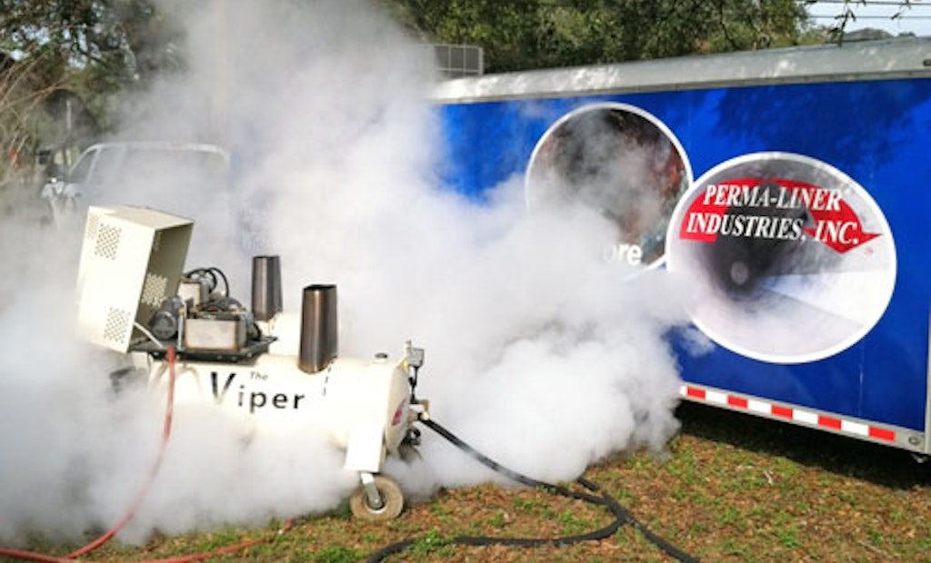 Portable Steam Curing System Reduces Down Time