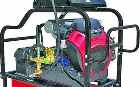 Water Cannon poly drive pressure washers