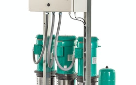Weil Pump vertical multistage booster pumps and systems