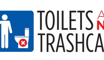 Toilets Are Not Trashcans, Says NACWA