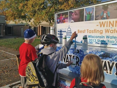 Water Wagon Promotes Sustainability, Confidence in Local Water Supply