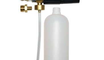 Foam Injector Improves Pressure Washer Performance