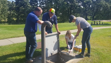 Rest Area Water Softeners and Their Effects on Septic Systems