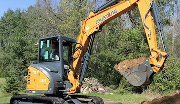 Mustang Introduces 550Z Compact Excavator in North America