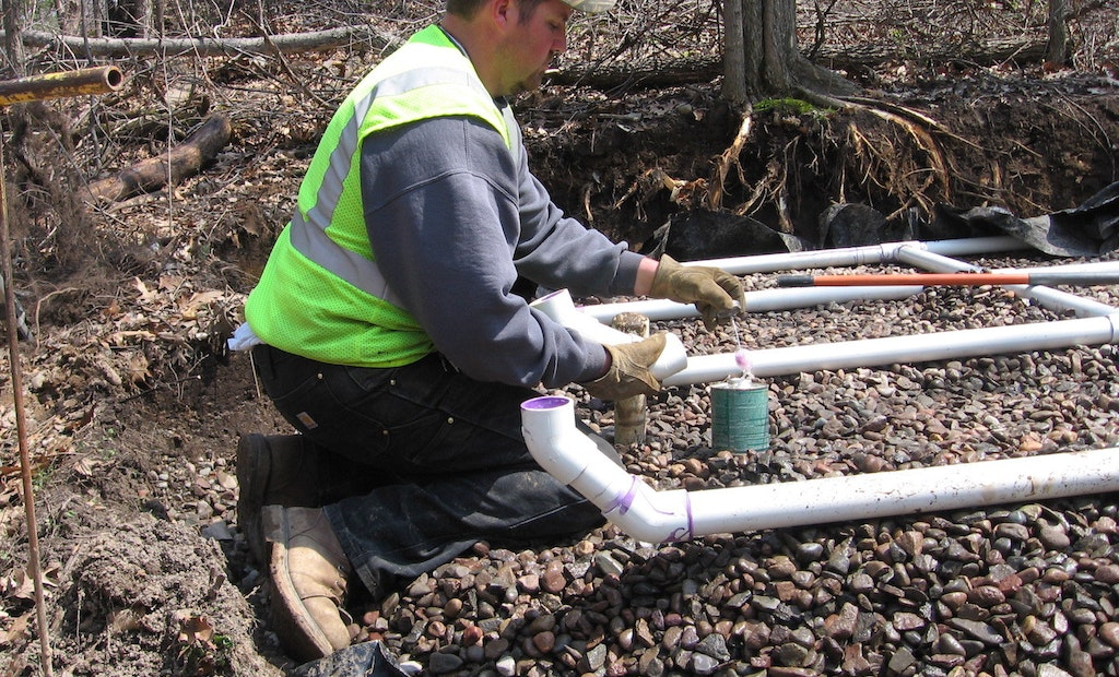 Pipe Materials: Connecting PVC Pipe and Fittings with Solvent-Welding