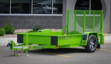Felling Trailers Will Light It Red and Paint It Green for Lymphoma Awareness