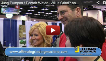 Jung Pumpen / Pentair Water - Will It Grind? online game - 2012 Pumper Cleaner Expo