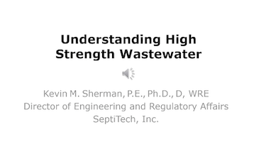Understanding High-Strength Wastewater