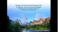 Anua Presentation: Restaurants and Convenience Store Commercial Waste
