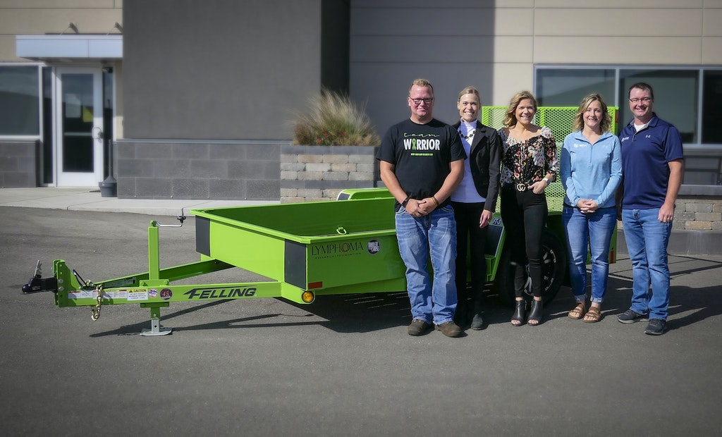 Seifert Takes Winning Bid on 2020 Trailer for a Cause Auction