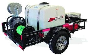 Jetting - Jetter/pressure washer combo unit
