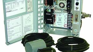 Level Controls - Clarus Environmental control panel
