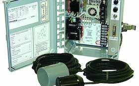 Level Controls - Clarus Environmental control panel