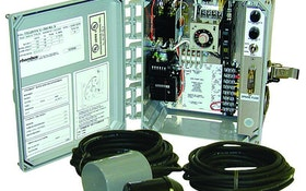 Level Controls - Clarus Environmental timed-dose control panel