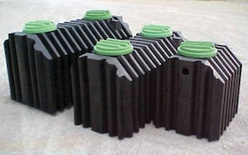 Septic Tanks - Coon Manufacturing rotationally molded polyethylene septic tank