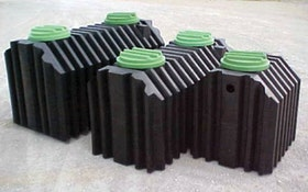 Septic Tanks - Coon Manufacturing rotationally molded polyethylene septic tank