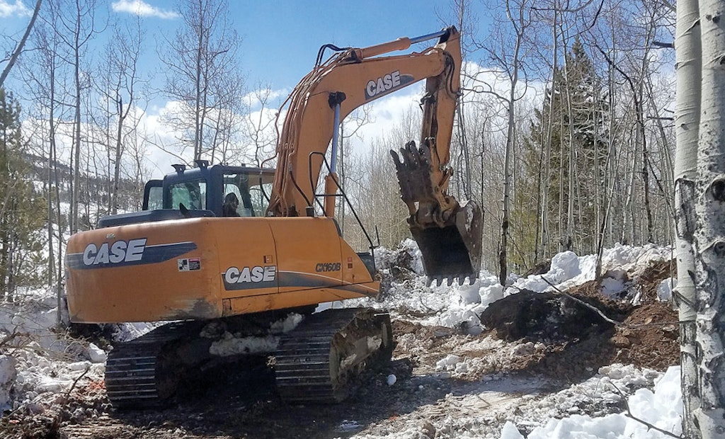 Rocky Mountain Report — Watch the Plow and Heavy Machinery During Tricky Springtime Installations