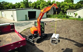 Excavation Equipment - Conventional tail swing excavator