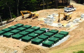 Drainfield Components - E-Z Treat Company Re-Circulating Synthetic Sand Filter
