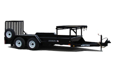 Redesigned Compact Loader Trailer Offers More Space