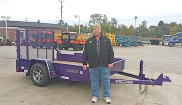 Purple Trailer Auction Raises $3,400 For a Good Cause