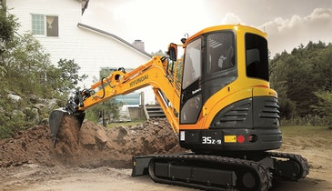 State-of-the-Art Earthmoving Machine for Sensitive Landscapes
