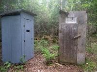 Whew! This Pit Toilet Stinks.