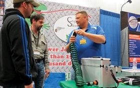 Creator of the Bull Frog Industries suitcase jetter says that good things come in small packages