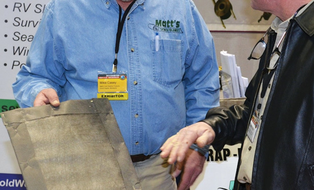 Matt's rolls out freeze protective septic blanket in Indy
