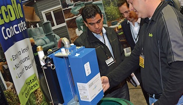 Show guests received firsthand look at self-cleaning UV system