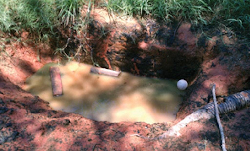 Poor People,  Poor Soil, Poor Sanitation