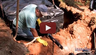 """Tight Fit"" - Wastewater System Profile - December 2012 Onsite Installer Video"
