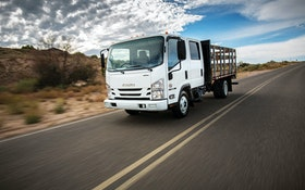 Isuzu Commercial Truck of America new model lineup and NRR Crew Cab