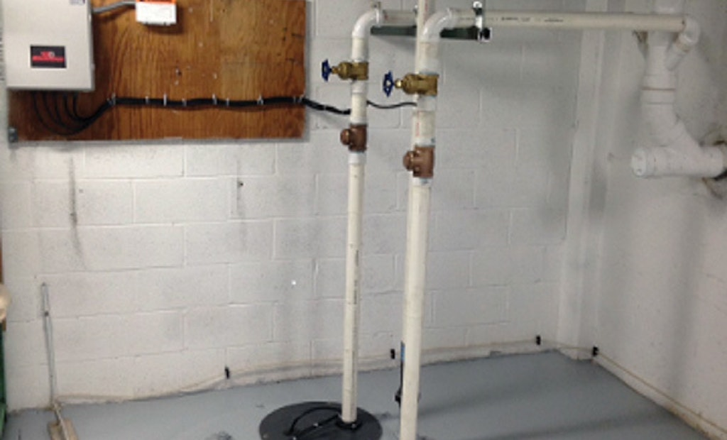 Cutter pumps used to replace antiquated wastewater system