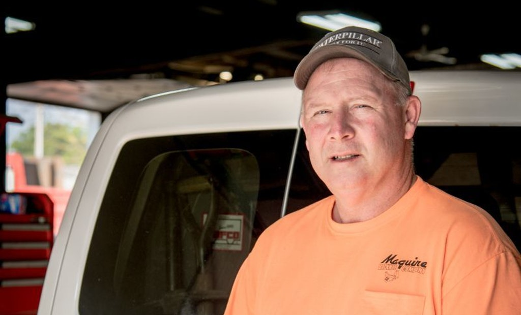 Maguire Backhoe Meets Tough Onsite Challenges