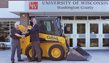 Skid Loader Donation Helps Wisconsin Community