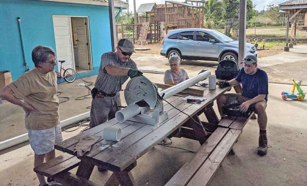 The Onsite Community Travels to Help the Needy in Belize