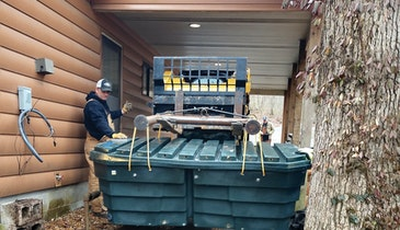 A Snug Fit Is Required When LaFollette Excavating Encounters an Environmentally Sensitive Work Site