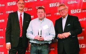 Mustang-Gehl Company presents 2015 Top Dealer awards