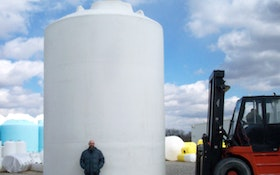New 20,000-Gallon Above-Ground Storage Tank Easy to Transport