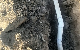 Onsite System Pipes Must Be Placed on a Firm Foundation