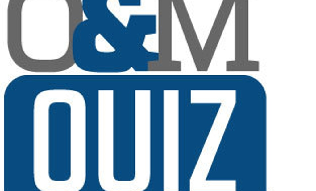 Operations and Maintenance Quiz 1