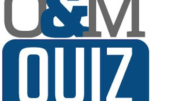 Operations and Maintenance Quiz 2 – Answers