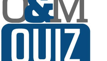 Operations and Maintenance Quiz 3 – Answers