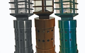 Vent Pipe Filters - Presby Environmental Ornavent