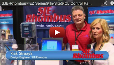 SJE-Rhombus - EZ Series® In-Site® CL Control Panel - 2012 Pumper & Cleaner Expo